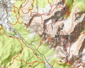 Sentieri e bivacchi di montagna nella Regione Veneto